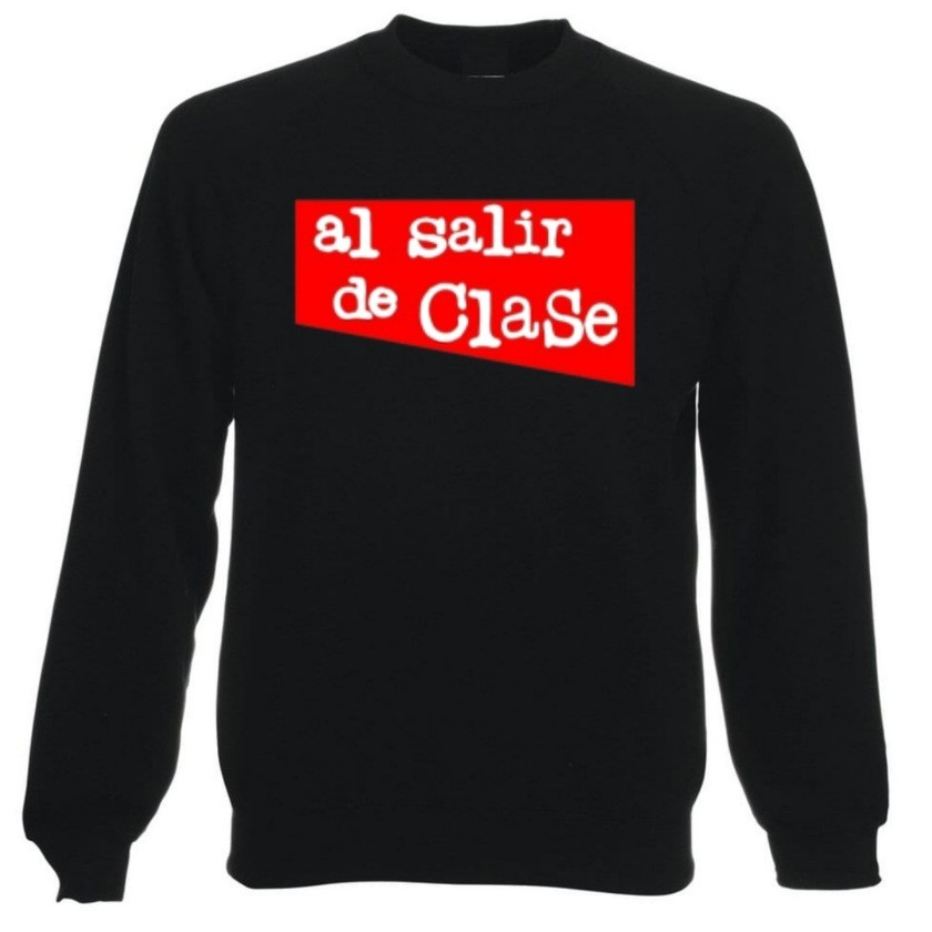 SUDADERA AL SALIR DE CLASE UNISEX